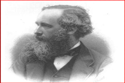James Clerk Maxwell. The father of electromagnetism