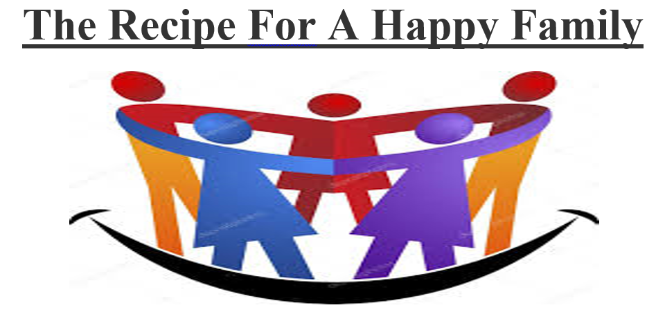 The Recipe For A Happy Family