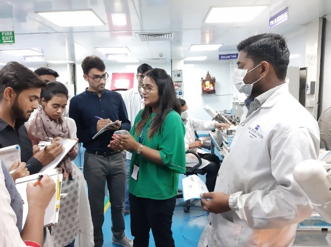 Spectacle Manufacturing Workshop of Optometry Department