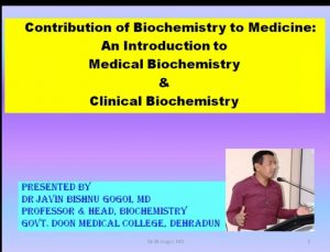 biochemistry Guest lecture